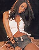 Amy Weber Signed Hot In Denim Mini 8x10 Color Photo With COA To John