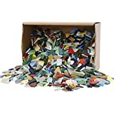 Mosaïques, dim. 8-20 mm, Assortiment de couleurs, 2 kg