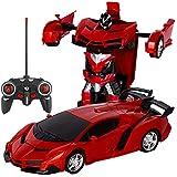 hereubuy trasforma Auto Robot, elettronico di Telecomando RC Veicoli Lamborghini deformazione Giocattoli Auto 1: 18