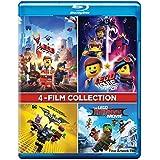 The LEGO 4 Movies Collection: The Lego Movie + The Lego Movie 2: The Second Part + The Lego Batman Movie + The Lego Ninjago Movie