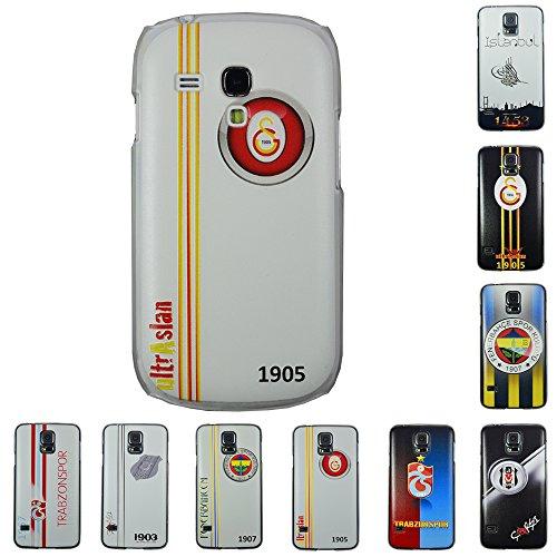 Für Samsung Apple iPhone Galatasaray Fenerbahce Besiktas Trabzon Back Case Apple iPhone 4 - 4s Galatasaray Logo Galatasaray Weiss