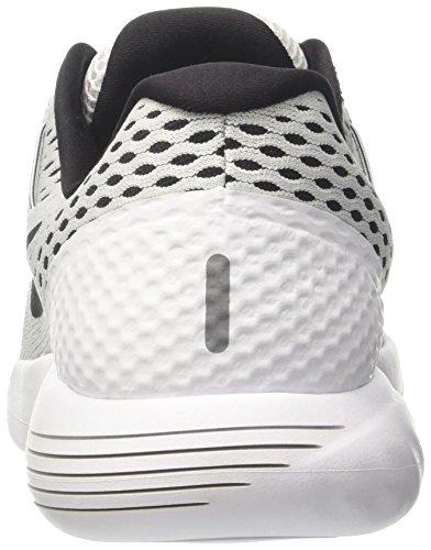 Nike Herren Lunarglide 8 Laufschuhe Elfenbein (White/black)