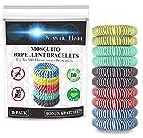 Mystic Flare Mosquito Repellent Bracelet 10 Pack – DEET Free Natural Citronella Oil