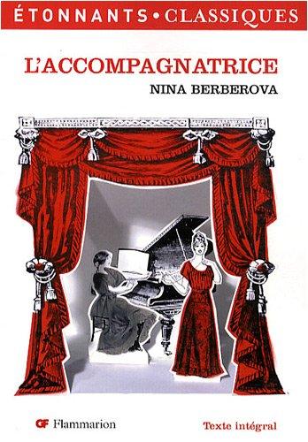 L'accompagnatrice par Nina Berberova