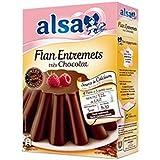alsa Flan entremets très chocolat - ( Prix Unitaire ) - Envoi Rapide Et Soignée