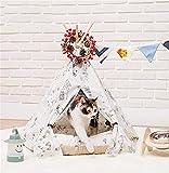 AnGe Tente pour animaux de compagnie pliable chien camping maison chien coussin chenil chat nid