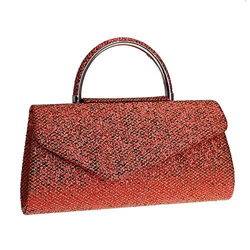 YCX Damen Handtasche, Abendtasche, Damen Wild Party Bag, Braut Hochzeit Tasche, Prom Bag, Brieftasche,A -