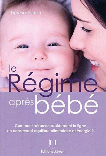 Le régime après bébé