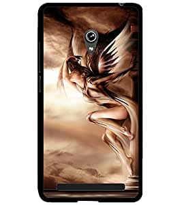 ColourCraft Lovely Angel Design Back Case Cover for ASUS ZENFONE 6 A600CG