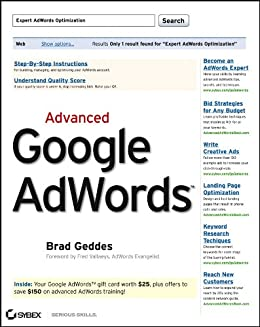 Advanced Google AdWords by [Geddes, Brad]