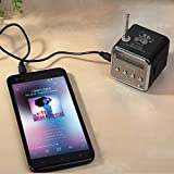#6: Banggood Music Player FM Radio PC MP3 /4 Portable Micro SD TF USB Mini Stereo Speaker Hot New Arrival