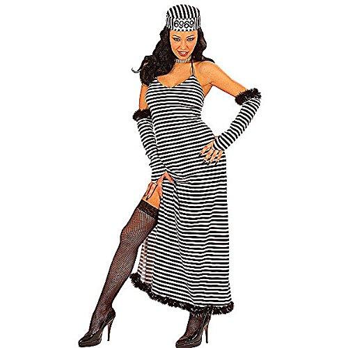 Kostüm-Set Verbrecher-Braut, Größe S