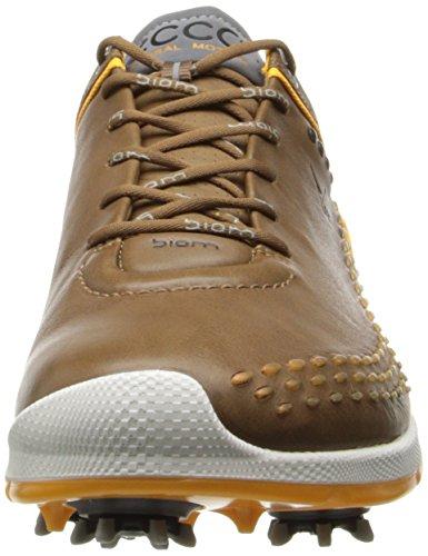 ECCO Men's Biom G2 Golf Shoe, Carmel/Fanta, 43 EU/9-9.5 M US