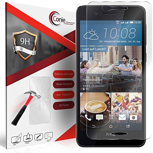 Conie 9H578 9H Panzerfolie Kompatibel mit HTC Desire 728G, Panzerglas Glasfolie 9H Anti Öl Anti Fingerprint Schutzfolie für Desire 728G Folie HD Clear