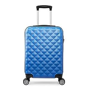 Valigie trolley 55cm trolley rigide bagaglio a mano 2.4kg super leggera 40L 4 ruote ABS …