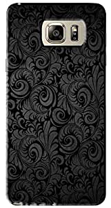 FCS Back Case For Samsung Galaxy Note 5 [Pattern-180]