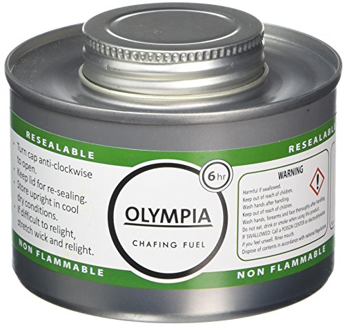 Olympia CB735 Chafing Liquid Fuel, 6 hour, Silver (Pack for sale  Delivered anywhere in UK