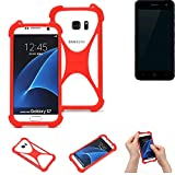 K-S-Trade® Mobile Phone Bumper For ZTE Blade L7A Silicone