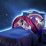 Meister der Familie – Europa Traumzelt Bettzelt Kinder Zelt Kinderzelt Indoor Zelt Weihnachtsgeschenk für Kinder (Einhornzelt)
