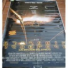 POSTER - CARTEL GRANDE (Big poster) - LAS BRIGADAS DEL ESPACIO ( Starship Troopers )