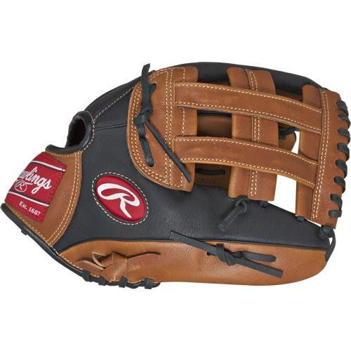 Rawlings Sporting Goods Prodigy Serie Baseball Jugend Handschuh, Prodigy Series, Brown 12