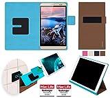 reboon Huawei MediaPad X2 Hülle Tasche Cover Case Bumper | Braun | Testsieger