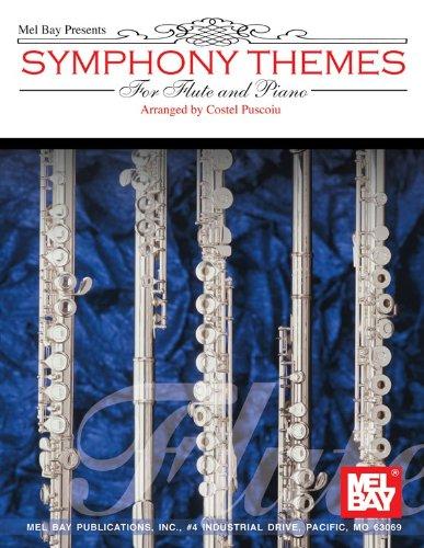 Symphony Themes for Flute and Piano. Partitions pour Flûte Traversière