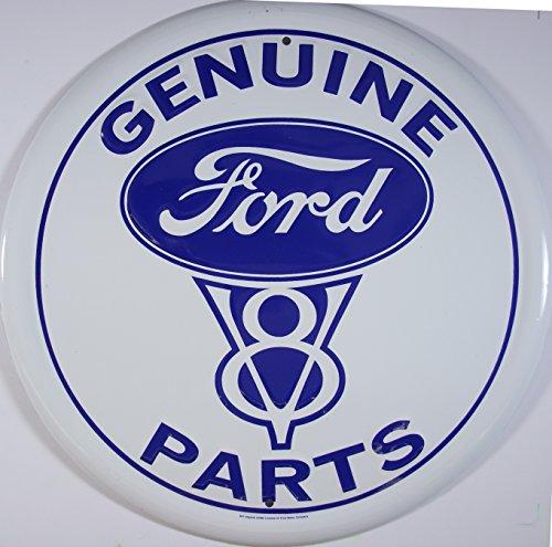ford-v8-genuine-parts-plaque-mtal-plat-nouveau-31x31cm-vs085-1