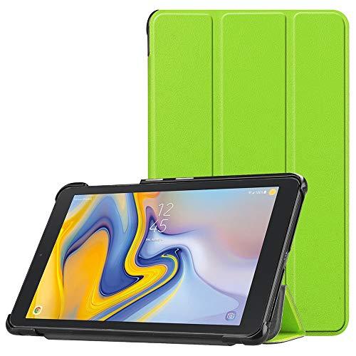 NIUQY Geeignet für Samsung Galaxy Tab A 8 0 2018 SM-T387 Verizon/Sprint  Sicherheit Stoßfest Verlustprävention Hülle Slim Shell Cover Tragbarer