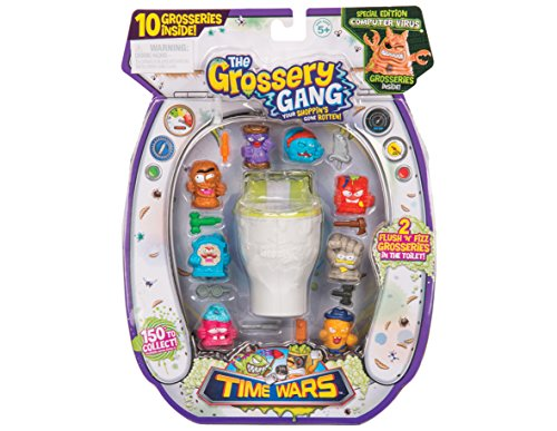 grossery Gang gga46000Flush und Fizz Serie 5Time Wars Figur (Uhren Wie Sammeln, Zu Sie)