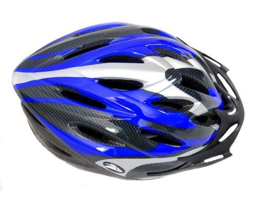 Coyote Sports Sierra Fahrradhelm 5 Farben, 2 Größen, Farbe:blau;Grösse:M