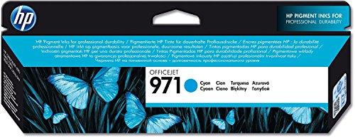 Preisvergleich Produktbild 1x Original HP CN622AE HP 971 Tintenpatrone für HP Officejet Pro X 576 DW - Cyan - Leistung: ca. 2500 Seiten