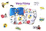 Superbottoms Plus UNO Reusable Cloth Diaper with 2 Organic Cotton Inserts
