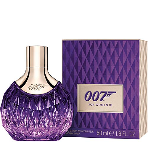 James Bond 007 for Women - Eau de Parfum Frauen Natural Spray III - Orientalisch wohlriechender Damenduft für atemberaubend sinnliche Auftritte - 1er Pack (1 x 50ml) - Patchouli-essenz