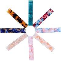 8 pezzi Fermagli clip di capelli in resina acrilica per le donne moda geometrica alligatore fermagli per capelli…