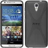 PhoneNatic Custodia per HTC Desire 620 Cover Grigio X-Style Desire 620 in Silicone + Pellicola Protettiva