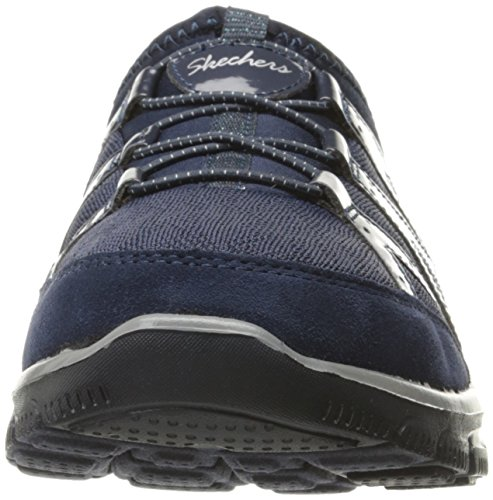Skechers Easy Going Repute Synthétique Chaussure de Marche Navy