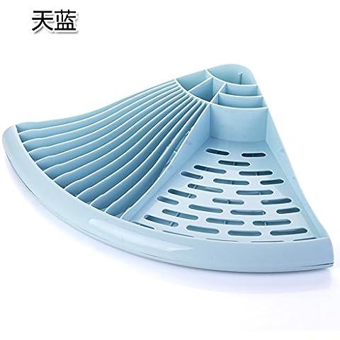 CLG-FLY inox ciotola doppia cremagliera Siu Lek Yuen acqua cucina rack rack in un cestello di lavastoviglie scolapiatti piatto, il ripiano #28 con alta qualità