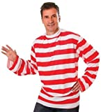 Striped - Disfraz de Wally para hombre, talla 52-54 (AC175)