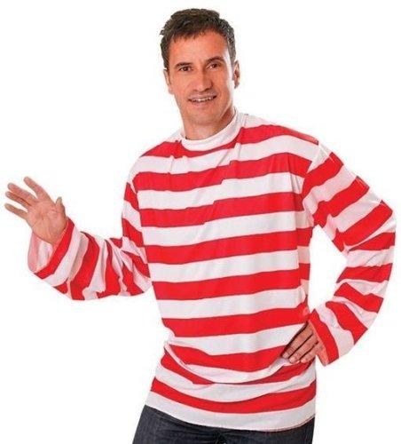 Imagen de striped  disfraz de wally para hombre, talla 52  54 ac175