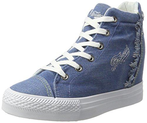 fiorucci-fepe023-chaussons-montants-femme-bleu-bleu-denim-38