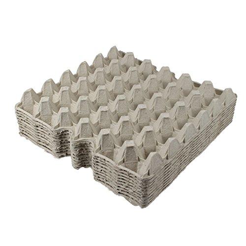 BODA Creative Eierpappe für 30 Eier, grau, 20 Stück