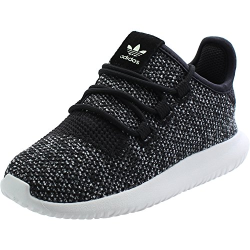 adidas Originals Tubular Shadow Knit I Black Textile Infant Trainers Black