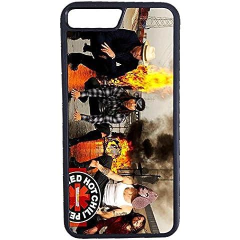 Custodia per Red Hot Chili Peppers, iphone 7 plus (NOT per iPhone 7) - Musica Band Rock Cover / Case, iphone 7 plus (NOT per iPhone 7) Lusso Luxury Cover - Uomo Legno Vitruviano Custodia Protettiva & iphone 7 plus (NOT per iPhone 7)