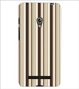 ASUS ZENFONE 5 LINES PATTERN Designer Back Cover Case By PRINTSWAG