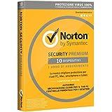 Norton Security Premium 2018 - 10 dispositivi, 1 anno