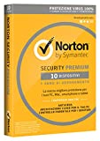 Norton Security Deluxe Antivirus Software 2019 | 10 Dispositivi (Licenza di 1 anno) | Compatibile con Mac, Windows, iOS e Android