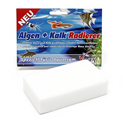 Wiltec Vanya Algen und Kalk Radierer Aquarium Scheibenreiniger