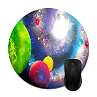 Spray Paint Galaxy Mouse Pad -Office Gaming Desktop Accessory