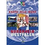 Karte Bild Wort: Grundschulatlanten - Ausgabe 2001: Schülerband Nordrhein-Westfalen
